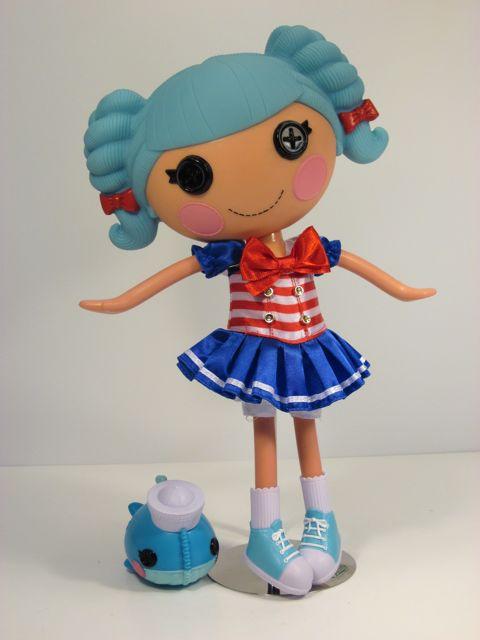 A Review Of The Lalaloopsy Marina Anchors Doll By MGA