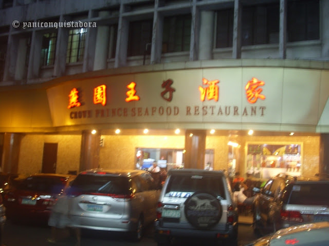 Crown Prince Seafood Restaurant in Binondo