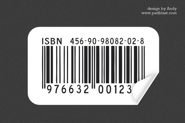 PSD Barcode Sticker
