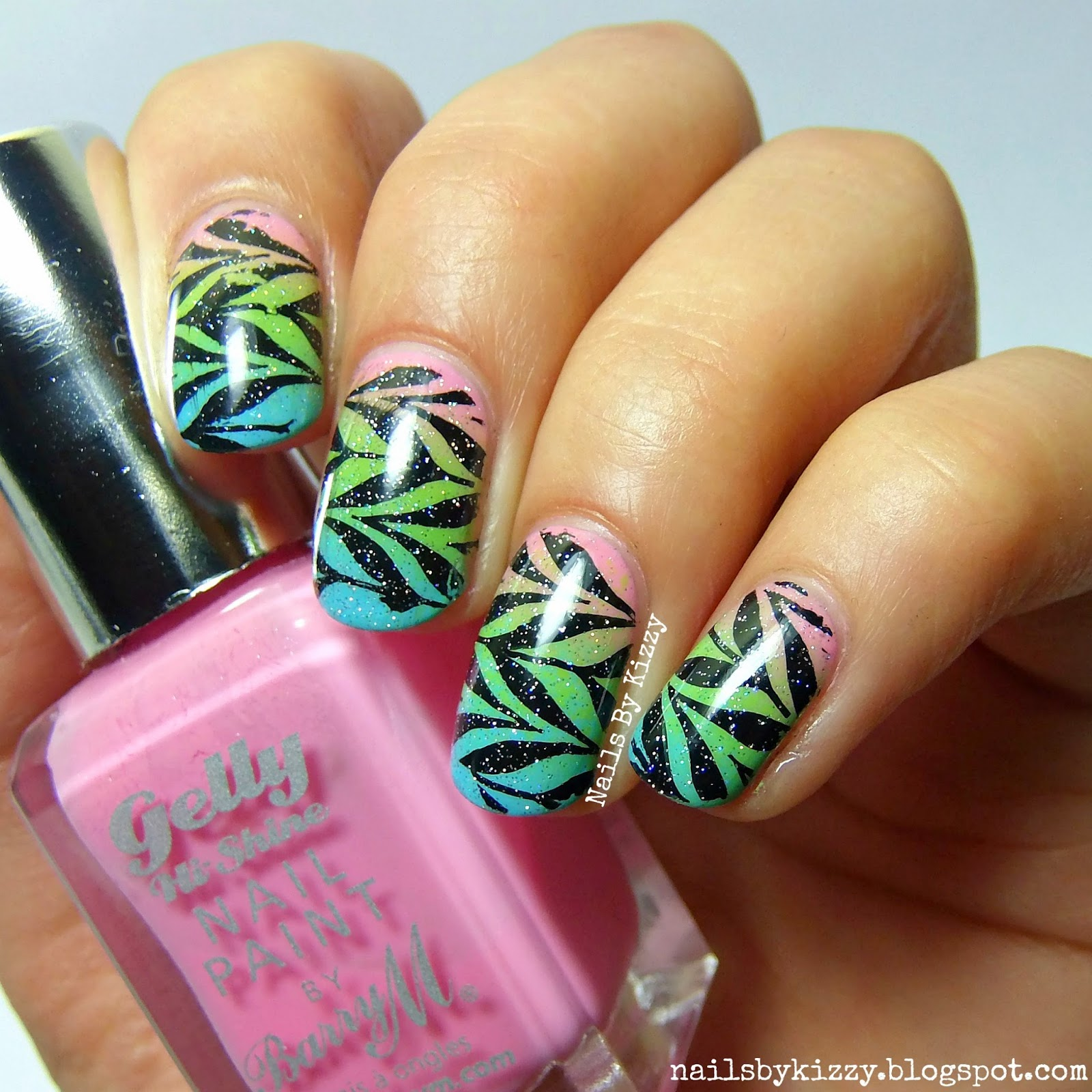 Nails By Kizzy: Water marbling without water!
