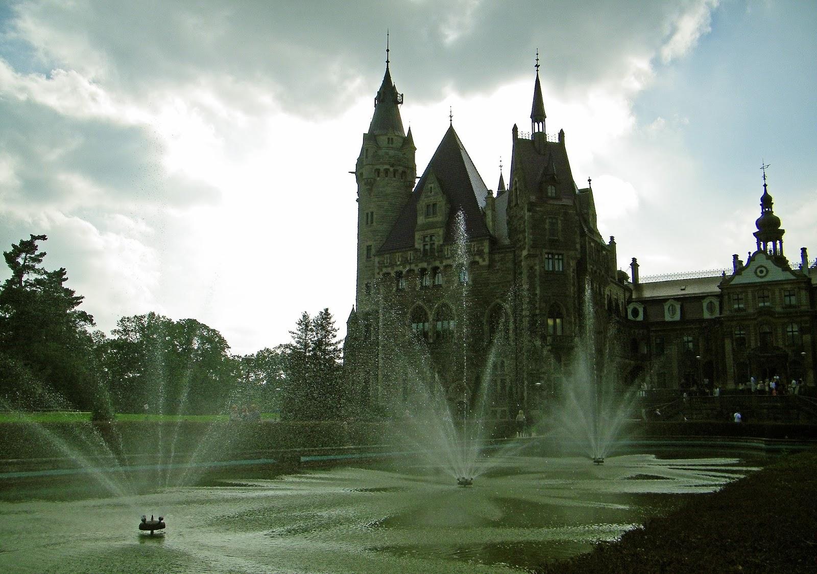 Zamek Moszna - Zwiedzanie