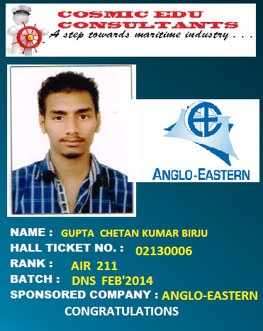 ANGLO-EASTERN SHIP MANAGEMENT
