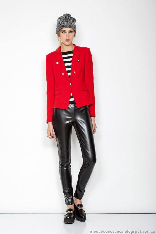 Janet Wise invierno 2014 Ropa de mujer de moda casual elegante invierno 2014