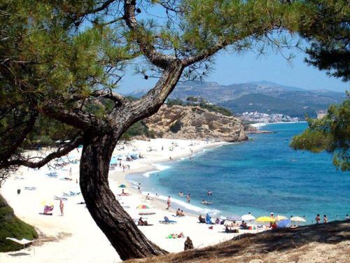 vedere din insula grecească Thassos