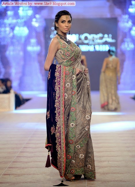 PFDC L`Oreal Paris Bridal Week 2014-15