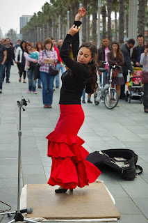 flamenco, barcelonetta