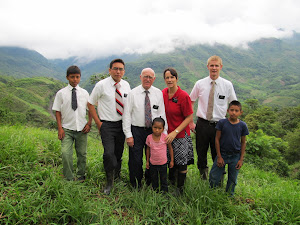 With Members and Missionaries at Chijolom
