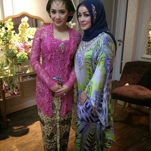 Foto Kebaya Nagita Slavina Midodareni Pernikahan Raffi Ahmad 2014