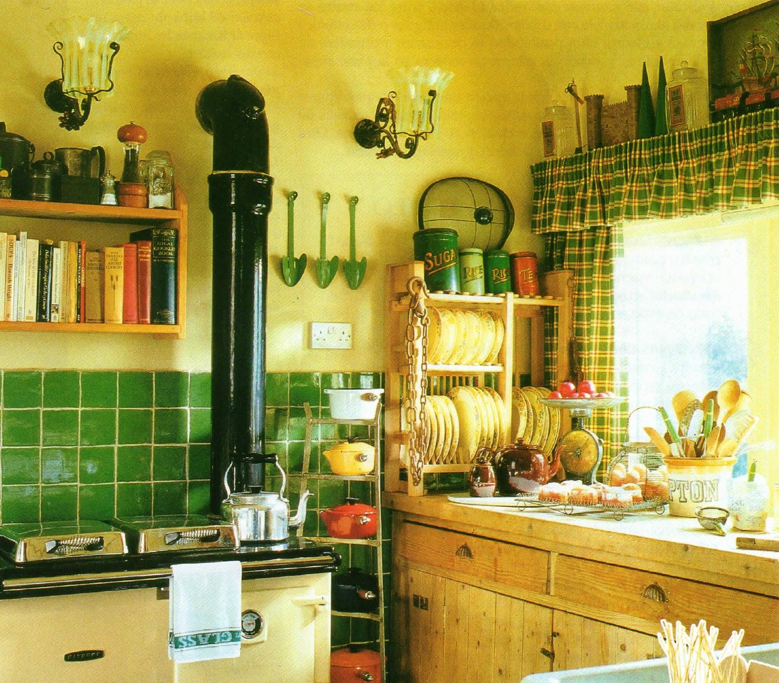 Detalles con encanto las cocinas de las casas rurales for Cocinas pequenas con encanto