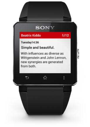 customize sony smartwatch 2 face