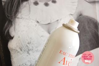 agua termal de avene