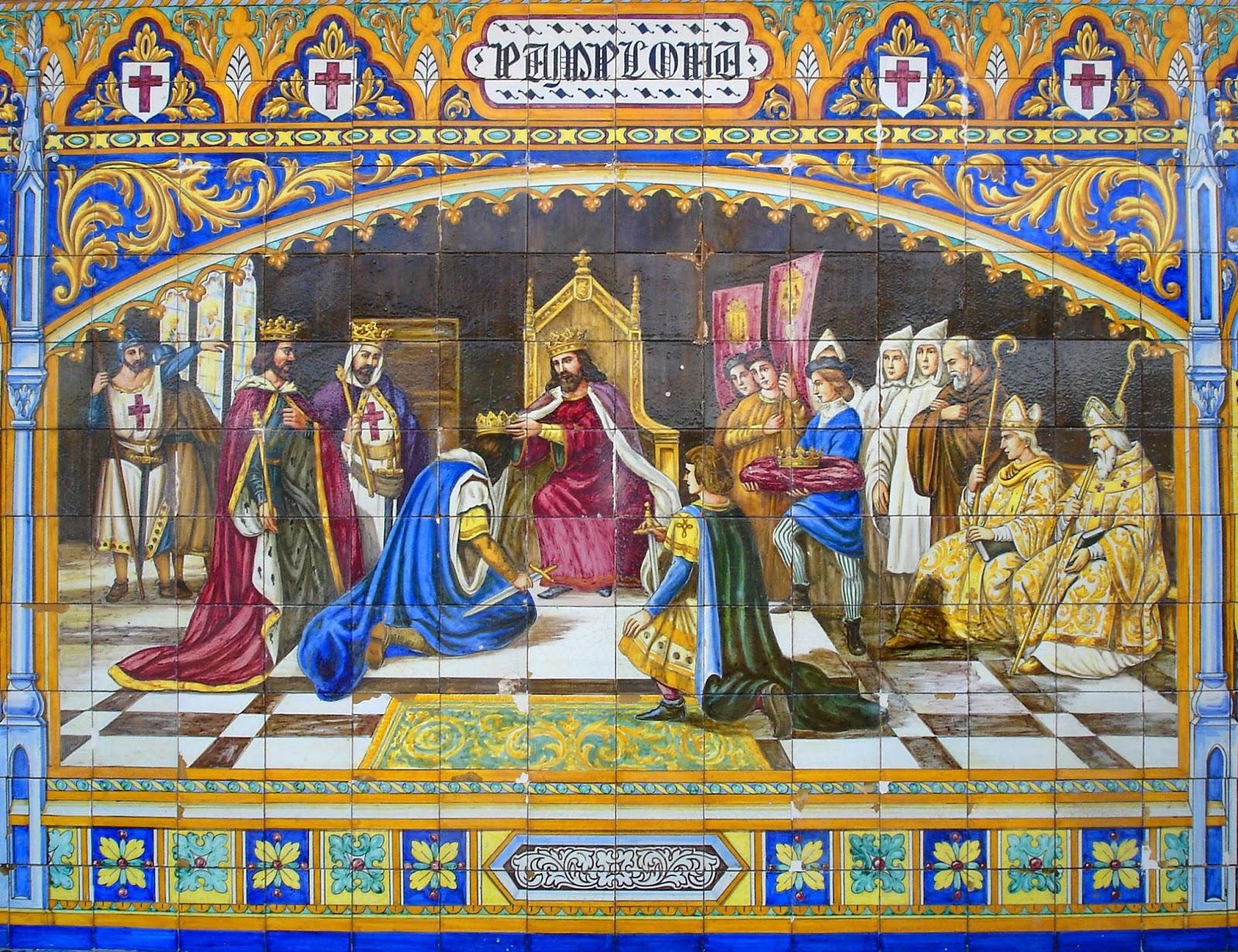Peque a historia de espa a sancho iii rey de navarra a o for El rey de los azulejos
