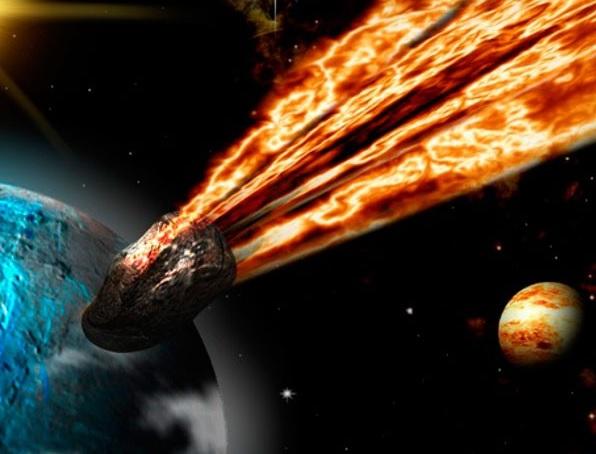 Ataque desde el espacio