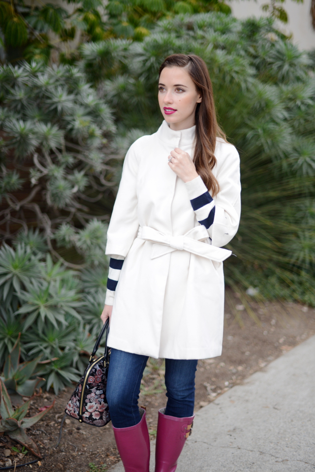 white belted coat via M Loves M @marmar