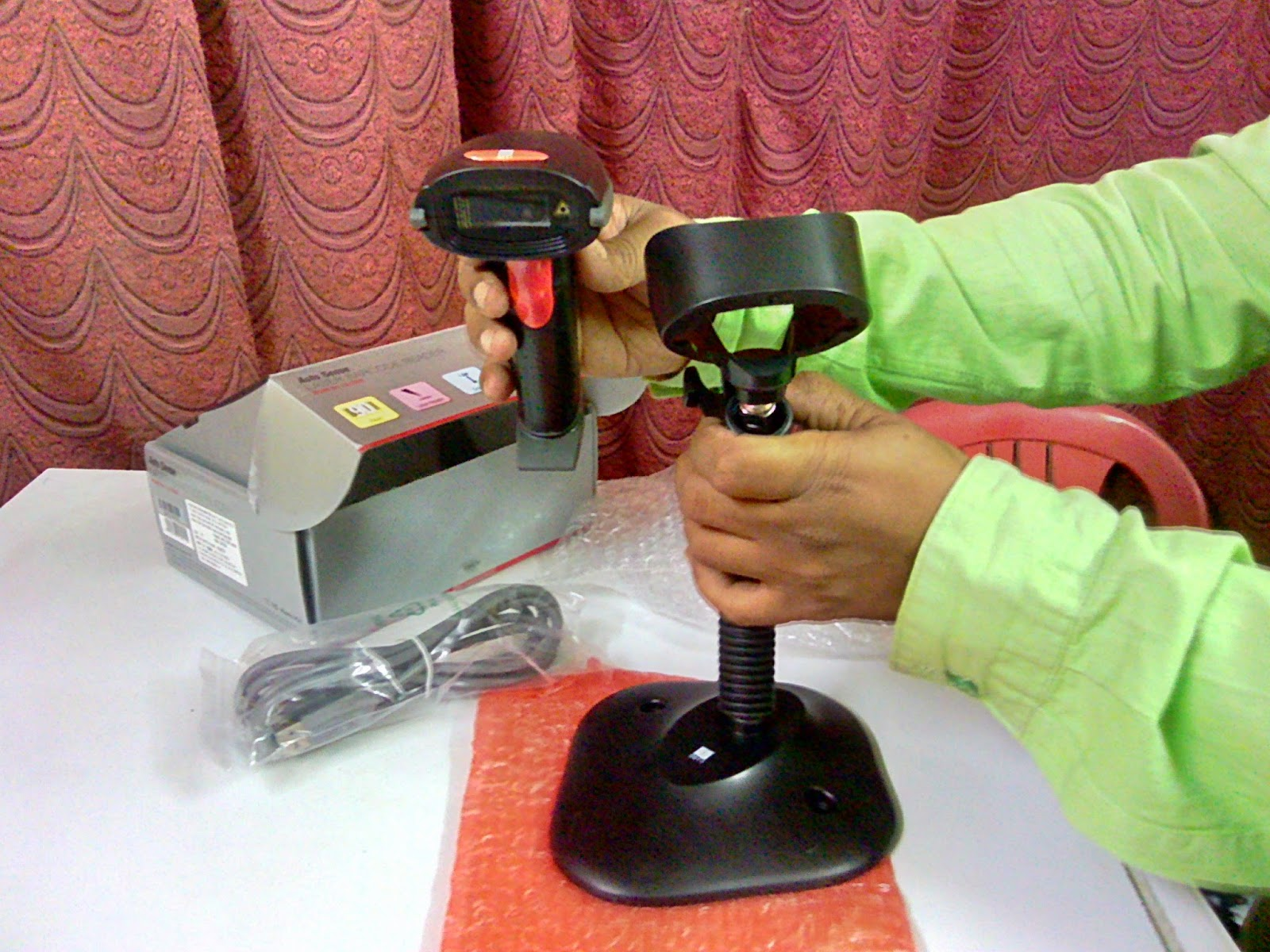 iBall Laser Barcode Reader LS-202A Price, Full Specification & Review