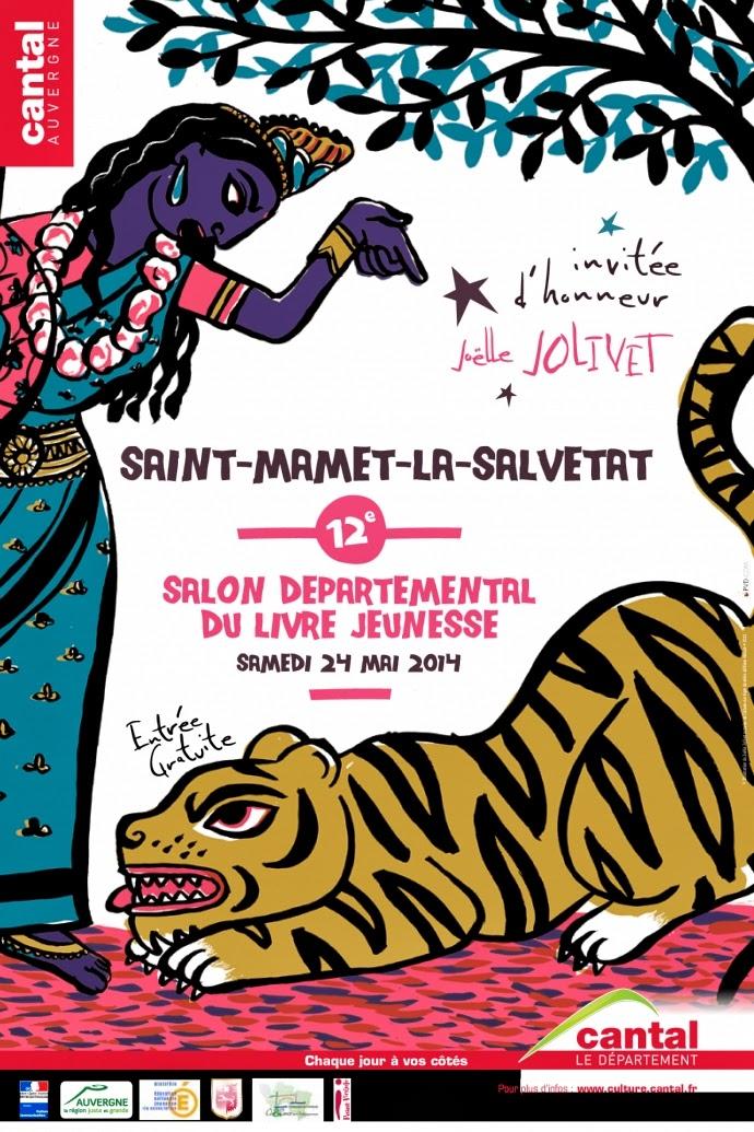 Salon du livre et de l'illustration jeunesse du Cantal - Saint Mamet : + d'infos
