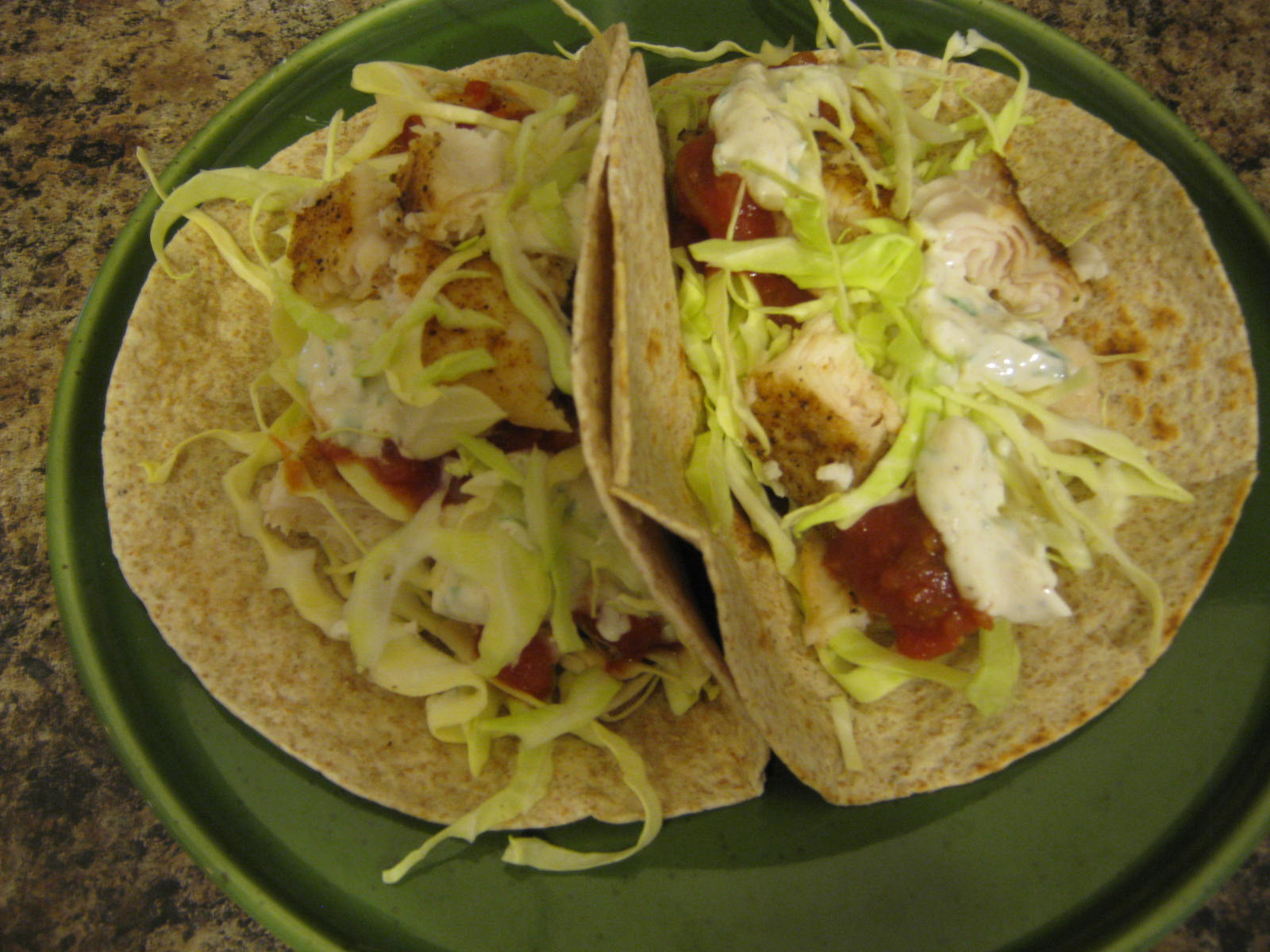 I See Fit People: Chipotle Lime Fish Tacos