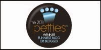 "Winner ""Funniest Blog"""