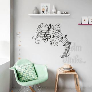 Cdm vinilos decorativos para casas y vidrieras vinilos for Vinilos decorativos pared musicales