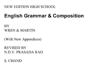 English Grammar & Composition: NEW EDITION HIGH SCHOOL