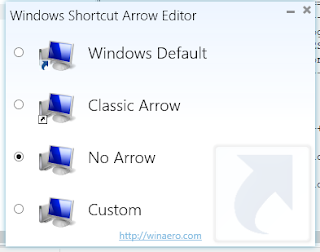 Cara Menghilangkan Tanda Panah (Arrow) Di Shortcut Windows