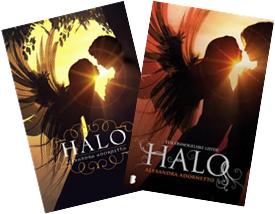 Portadas del Libro Halo
