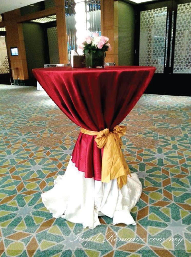 Cocktail Table, mandarin oriental hotel, grand ballroom, kuala lumpur