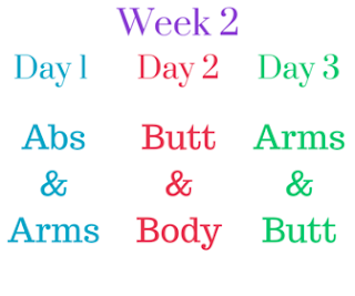 self 30 day summer challenge week 2 circuit workout