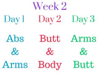 self 30 day summer challenge week 2 circuit workout