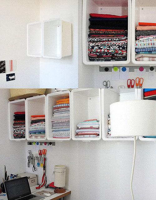Ikea hack caja de pl stico slugis en la pared - Cajas de plastico ikea ...