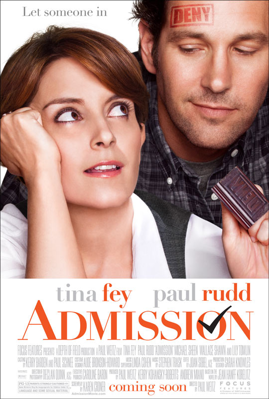 Admission - Poster (2013)