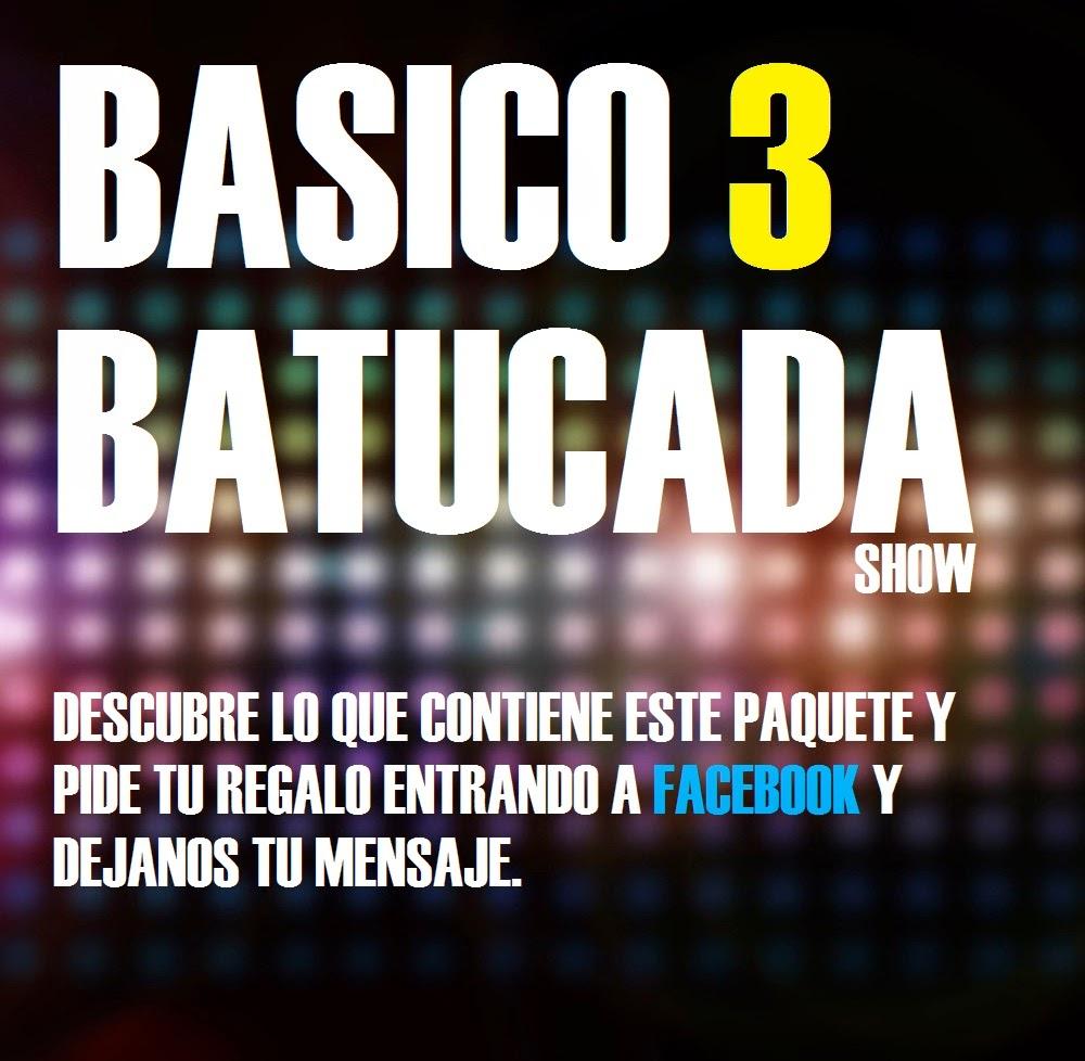 BASICO 3 BATUCADA SHOW