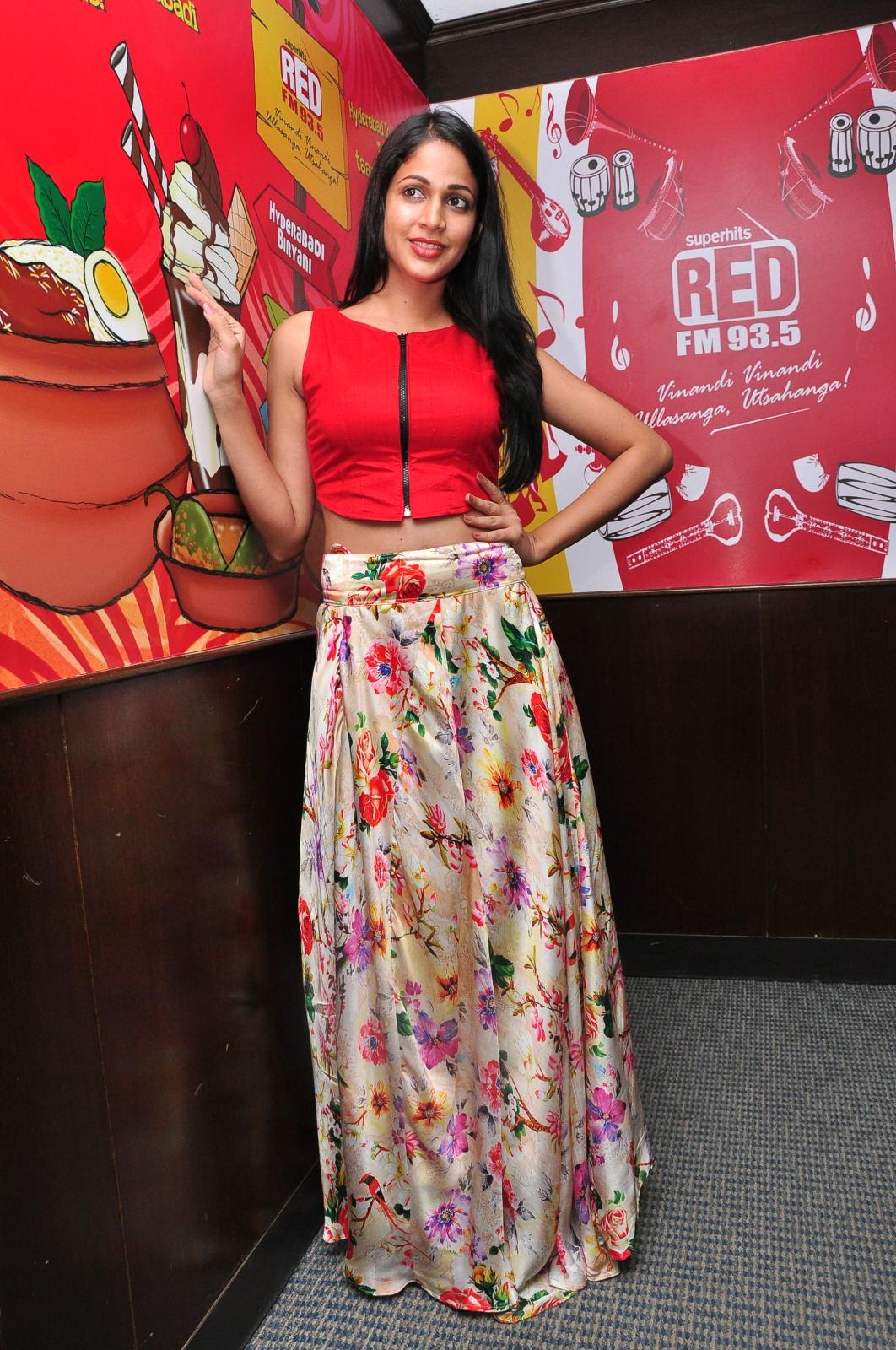 Lavanya at Red Fm Radio station-HQ-Photo-2