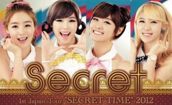 Video secret korean girlband accident