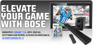 Bose Madden NFL 13 Sweepstakes