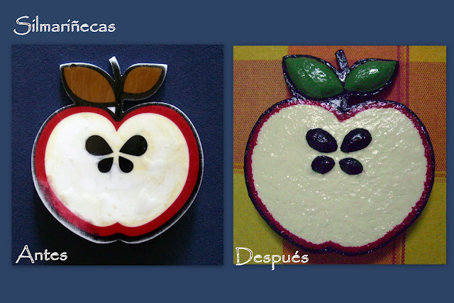 broche manzana de Mango