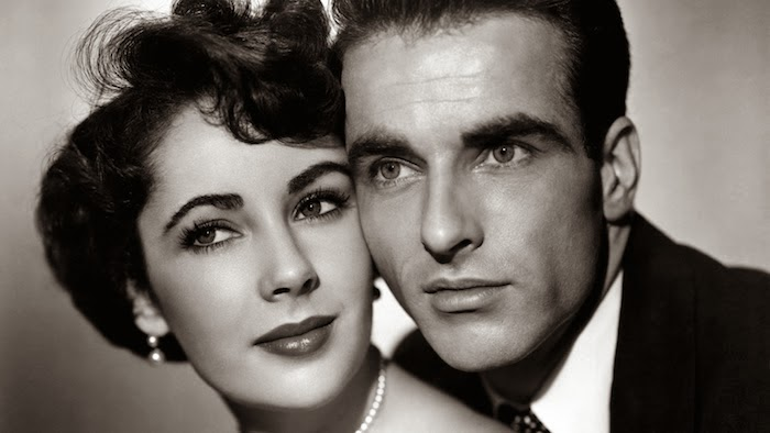 Elizabeth Taylor and Montgomery Clift star in 1951's A Place in the Sun.