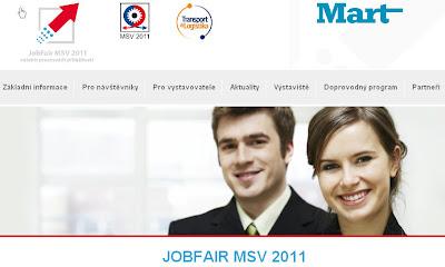 JOBFAIR 2011 veletrh pracovních příležitostí při MSV