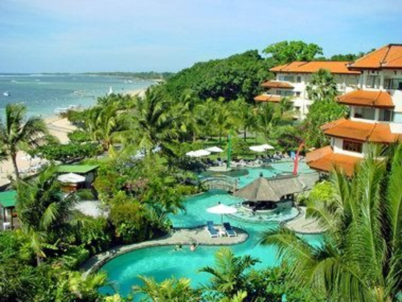 Full picture bali beach hotel for Indonesia resorts bali