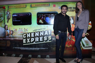 Mexican Actress Rebeca Mayorga at Chennai Express Music Launch