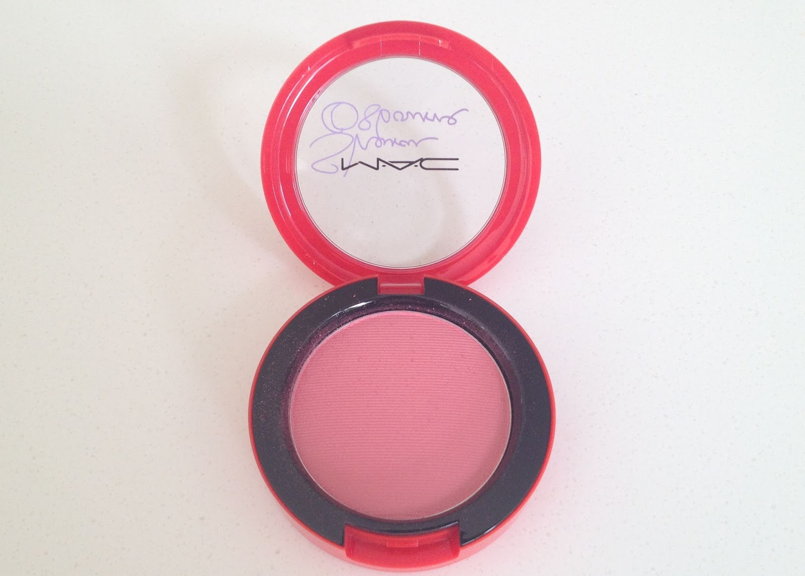 MAC Sharon Osbourne Peaches & Cream Powder Blush
