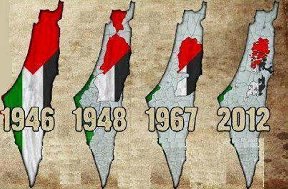 فلسطينُ المنهوبة عبر التّاريخ.