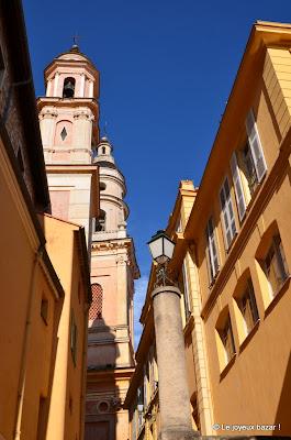 Menton - vieille ville