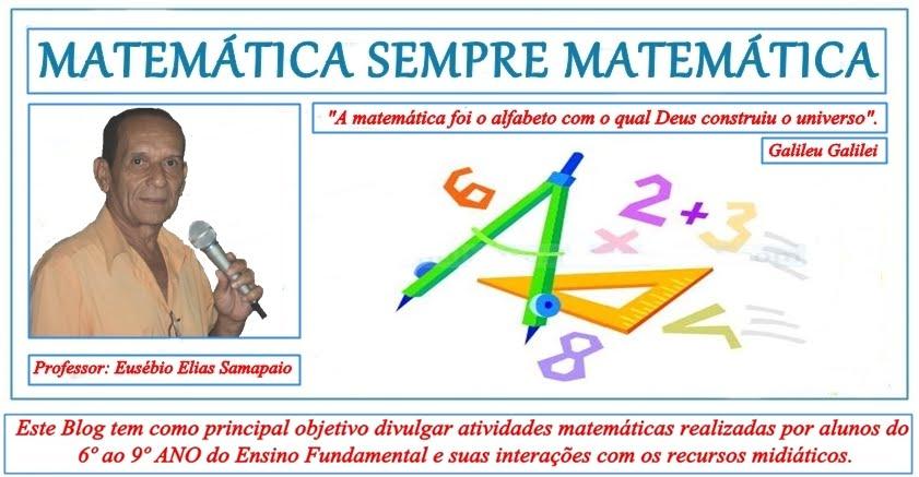 Matemática Sempre Matemática