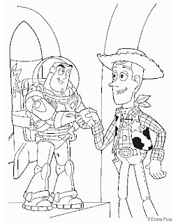 Desenhos do Toy Story para colorir