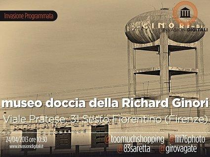 invasioni digitali Richard Ginori Doccia