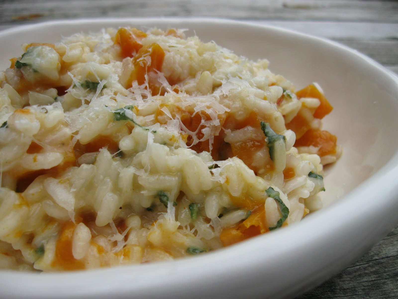 Tate's Kitchen: butternut squash risotto