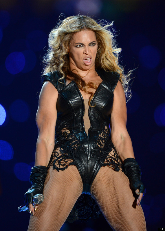 Black racist nuts on the Internet. O-BEYONCE-570