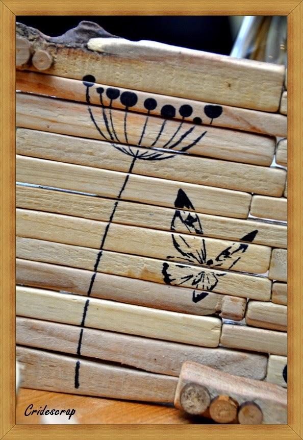 La boutique deco de cridescrap co d co en bois flott for Travailler bois flotte