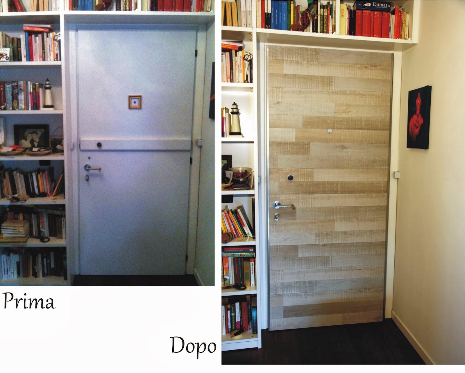 Il baule delle idee rinnovare e insonorizzare una porta con assi da pavimento - Tecniche per rinnovare mobili ...